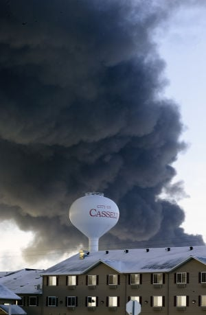 Propane suspended in oil may have caused rail car explosions