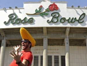 Photos: Husker fans descend upon Rose Bowl