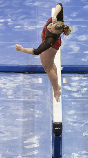 Photos: NU women's gymnastics, vs. Penn State, 1.17.15