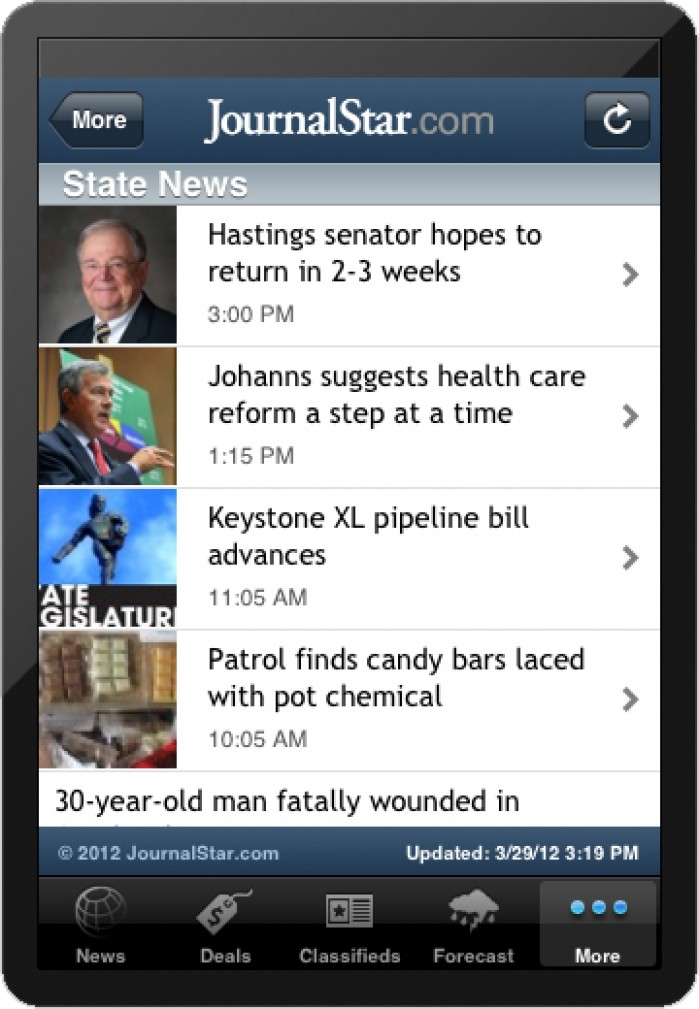 Journal Star rolls out new smartphone app : Lincoln, NE Journal Star