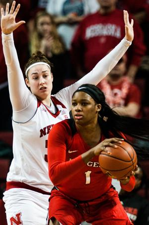 Photos: Husker women's baketball comes back to beat Rutgers 65-54