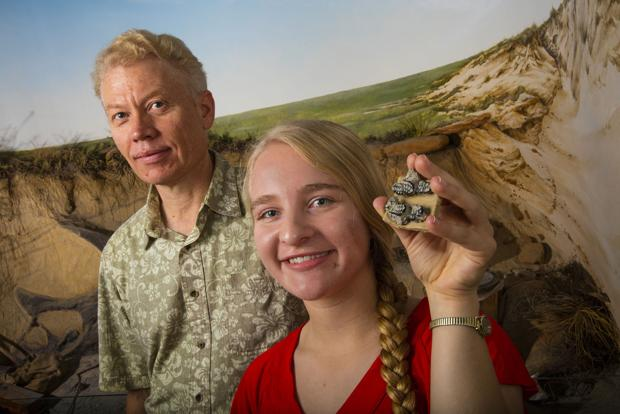 Beginner's luck nets UNL student ancient find -- a new species