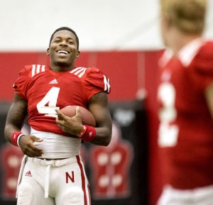 Photos: Husker football practice, 8.20.14