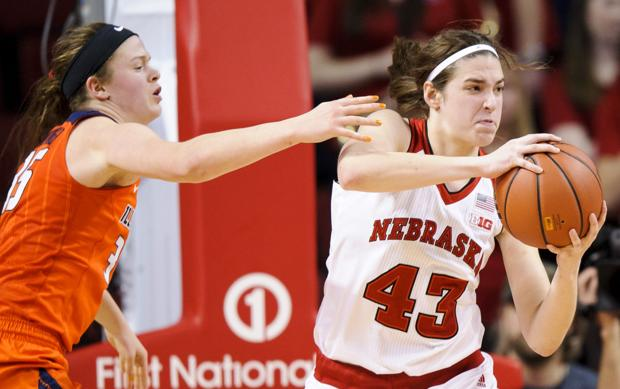 Photos: Nebraska women's basketball team gets first ...