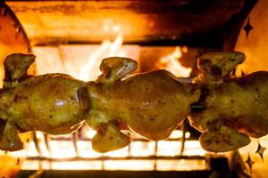 Review: Cowboy Chicken offers up juicy wood-fire fare