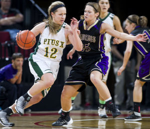 Photos: State girls hoops, Holdrege vs. Pius X, 3.7.14