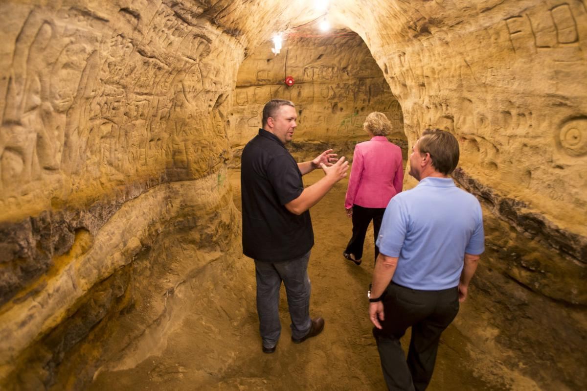 Blue Blood Holds Grand Opening Robber S Cave Now Open For