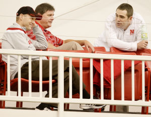 Photos: NU football practice, 12.16.14