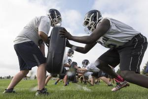 Photos: Lincoln North Star football practice