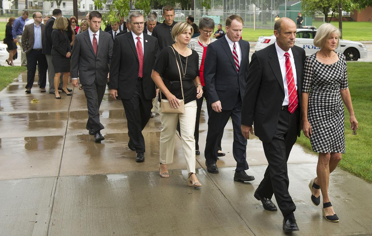 """Family and friends come together, remembering Foltz as """"a ..."""