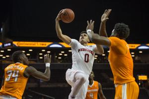Photos: Men's hoops, Nebraska vs. Tennessee