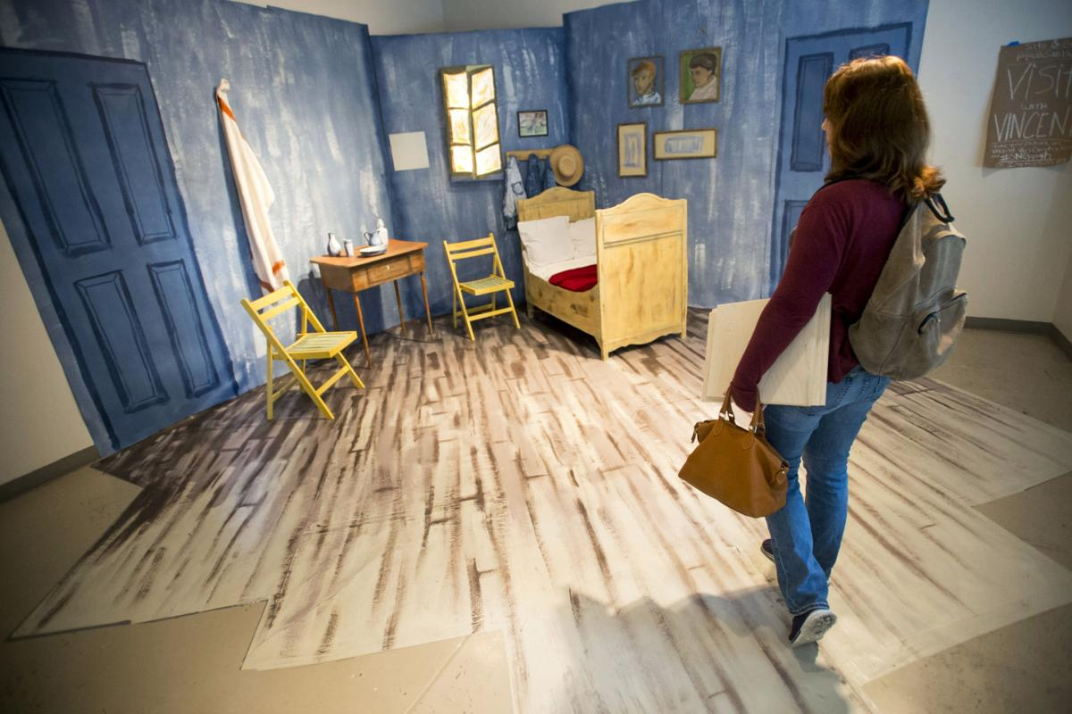 unl art students convert van gogh's 'bedroom' to study lounge