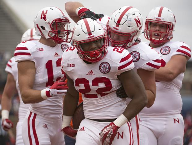 Third carry of Husker career is a TD for Ozigbo