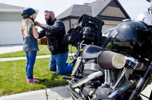 Nebraska bikers commit to helping abused children