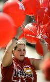 Husker touchdown balloons