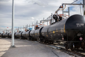 Wyoming station switches Canadian crude from pipeline to rail