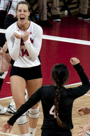 PHOTOS: Volleyball, Utah vs. Nebraska, 12.7.14