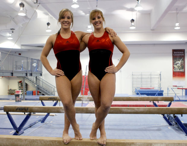 Preview 620 Lauer Twins Stick Together As Part Of Nu Gymnastics Team