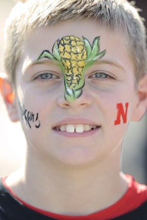 Photos: Husker fans at Capital One Bowl, 1.1.13
