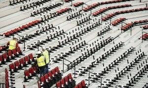 Photos: Pinnacle Bank Arena construction nears its end