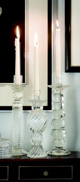 Mary carol garrity candlesticks light up home decor Home decor lincoln ne