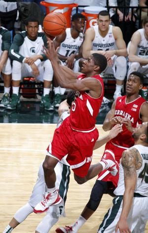 Photos: Nebraska hands No. 11 Michigan State third straight loss