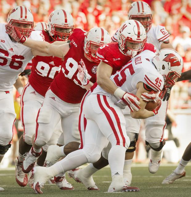 Husker backers learned on the fly, but Riley knows more depth needed