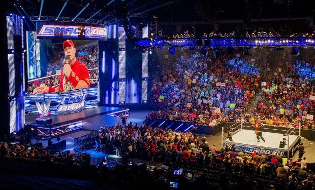 Escenografía SmackDown 2015