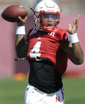Photos: Nebraska football practice, 4.1.15