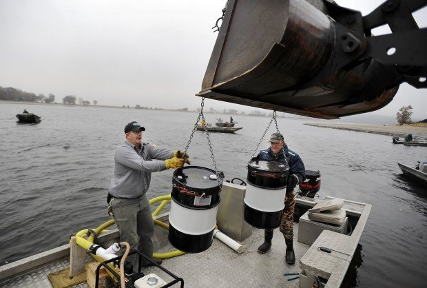 New life for lake starts with death local for Nebraska game fish and parks
