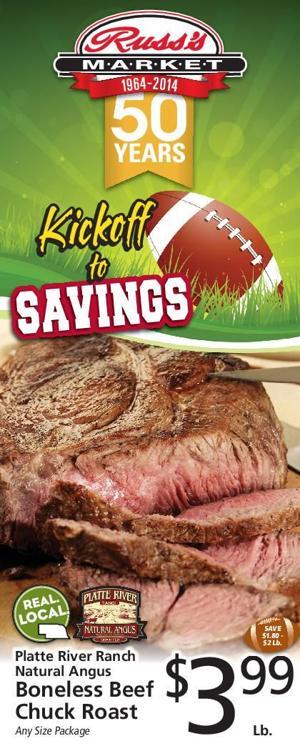 Kickoff to Savings