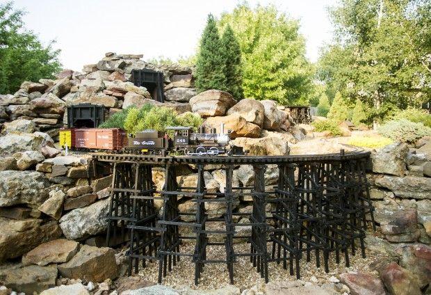 backyard railroad a scene straight out of rural america lincoln ne