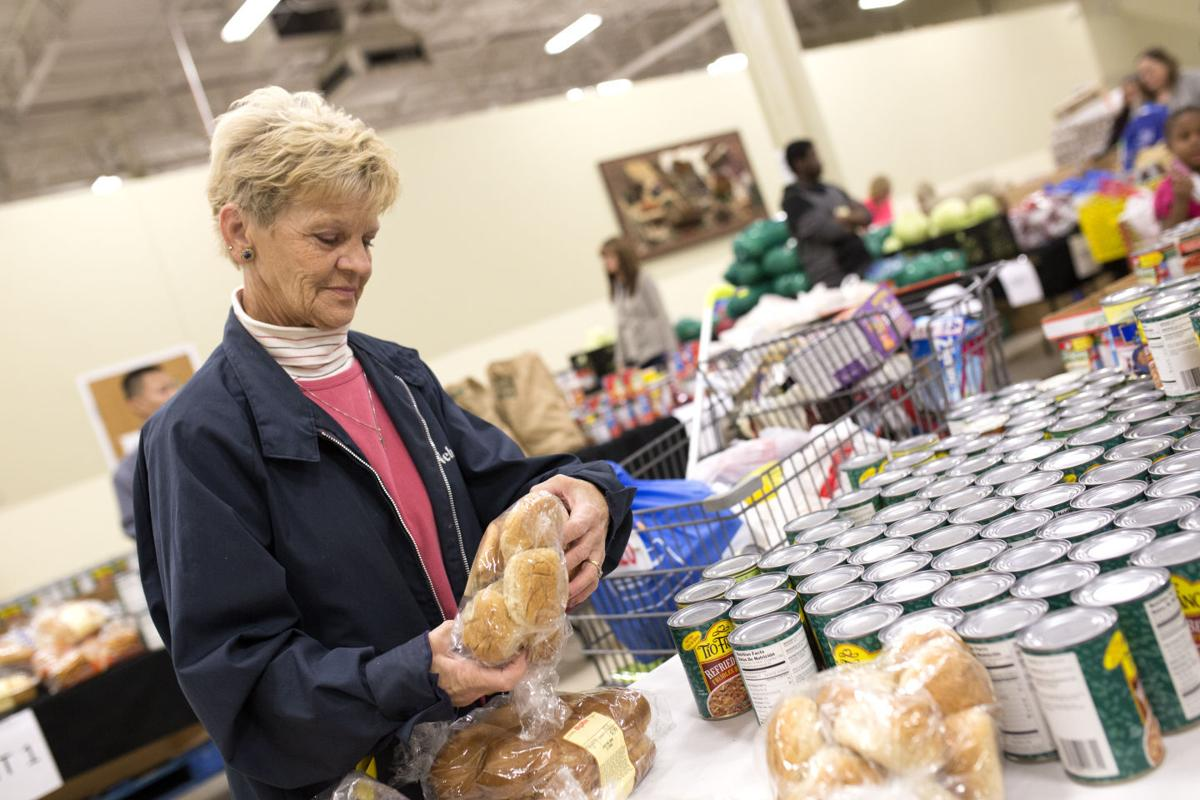 Giving Thanksgiving Provides Food For Thousands Of