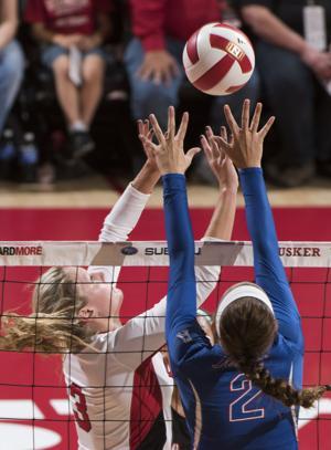 Photos: Tulsa vs. Nebraska volleyball