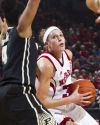NU women's basketball vs. Purdue, 1.19.14