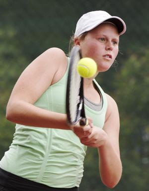 Photos: Girls state tennis, Class B, 5.22.15