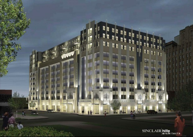 Parkhaus Apartments In Catalyst Building Drawing Early