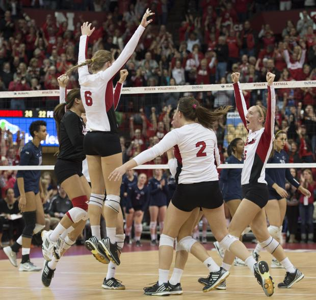 Volleyball: Huskers get season sweep of Penn State