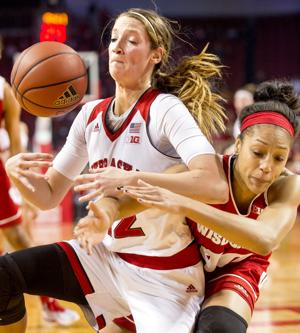 Photos: Husker women's hoops downs Wisconsin to win sixth straight