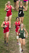 Prep cross country: Once at the back of the pack, LHS girls now conference champions