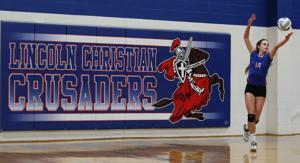 Photos: Freeman vs. Lincoln Christian volleyball