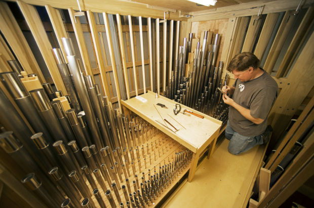 Photos St Joseph Catholic Church S New Pipe Organ Gallery