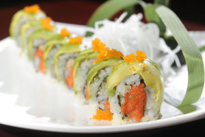 Review: Ninja impresses with unique sushi rolls