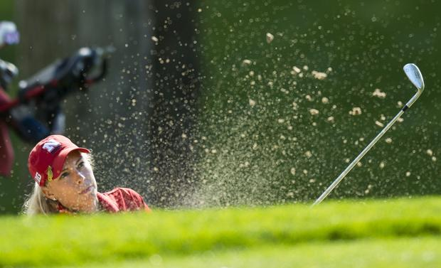 Women's golf: Jayhawk takes title; NU's Smejkal fights to finish