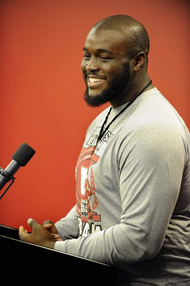 NU football: Collins ready to reach for that next level