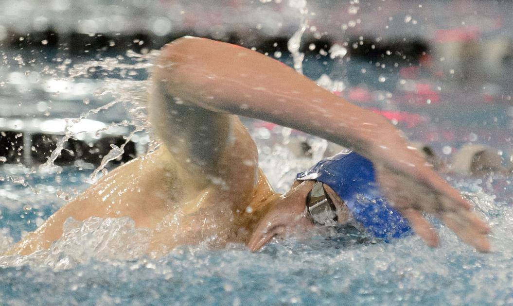Spartans fight to the finish to win boys city swimming title