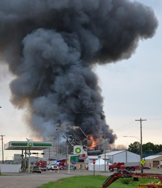 We Buy Houses Lincoln Ne: Scribner Fire Destroys Grain Elevator; Smoke Visible For
