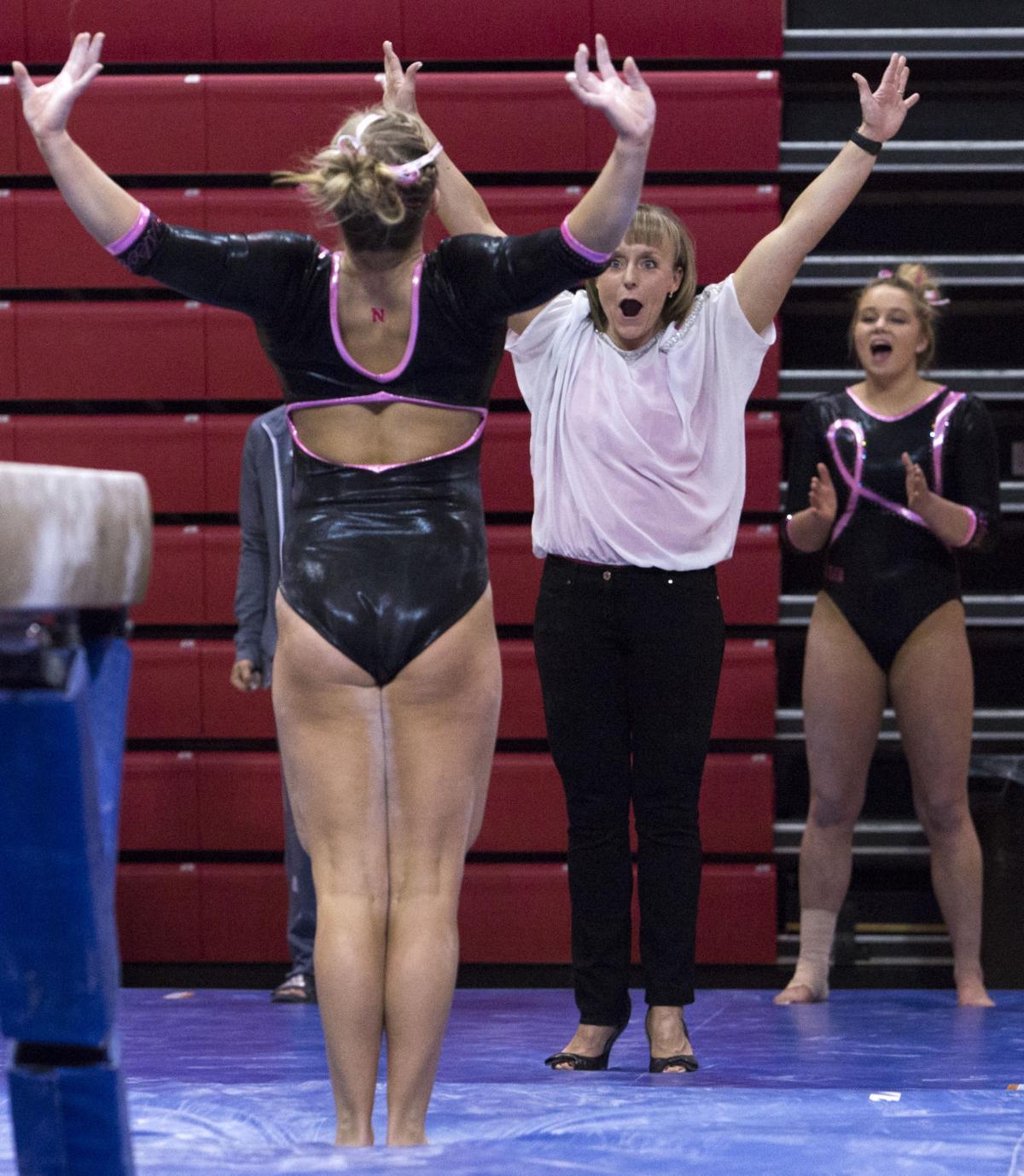 Image Resize Home Again Husker Womens Gymnasts Shine Gymnastics