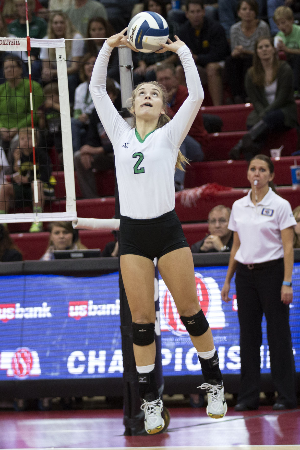 Class B State Volleyball Rising Above The Field
