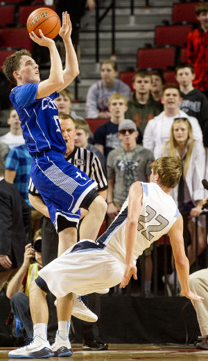 Photos: Boys state hoops, Hastings St. Cecilia vs. Freeman, 3.14.15